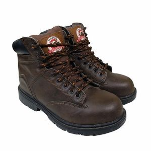 Brahma Raid Brown Steel Toe Boots  VGC